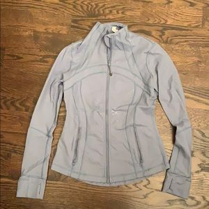 Lululemon Define Jacket - Light blue, size 4